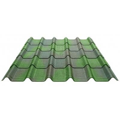 Foto van Onduline Onduvilla per pak 2,17 m² Groen