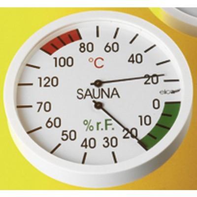 Hoofdafbeelding van Hot Orange Thermo-hygrometer Wit