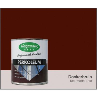 Foto van Koopmans Perkoleum, Donkerbruin 210, 0,75L Hoogglans