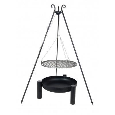 Hoofdafbeelding van Farmcook Swing Grill Viking ø 70 cm + Vuurschaal Pan38 80 cm
