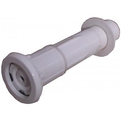 Foto van Azalp Luxe wanddoorvoer met inlaatfitting compleet voor polystyreen bouwblokken
