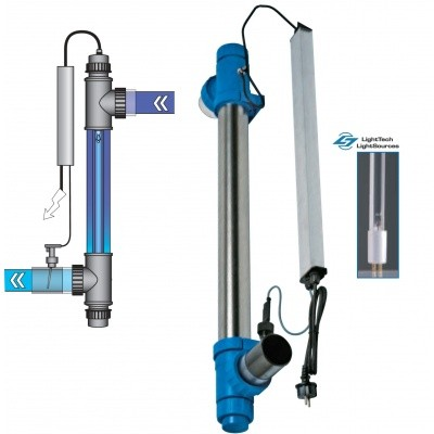 Foto van Blue Lagoon UV-C Amalgaam 130 Watt - 150.000L
