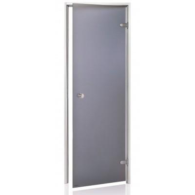 Hoofdafbeelding van Hot Orange Stoombad deur Au 90x200 cm, mat grijs