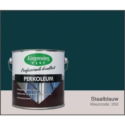 Foto von Koopmans Perkoleum, Stahlblau 250, 2,5L Seidenglanz