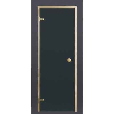 Hoofdafbeelding van Ilogreen Saunadeur Trend (Vuren) 209x89 cm, groenglas