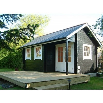 Hauptbild von Azalp CLASSIC Blockhaus Cottage Style Cumberland, 45 mm