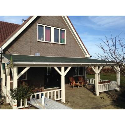 Foto van Azalp Houten veranda 600x300 cm