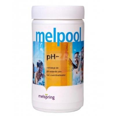 Hoofdafbeelding van Melpool pH minus poeder 1,5 kg