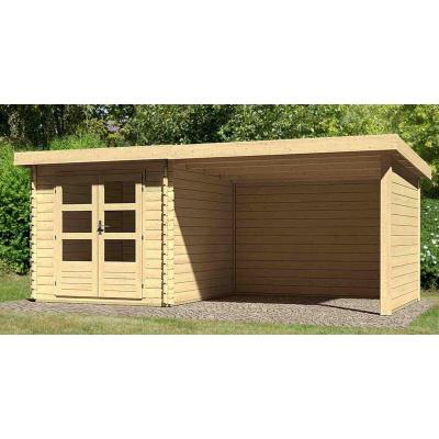 Hoofdafbeelding van Woodfeeling Bastrup 4 met veranda 300 cm (73327)