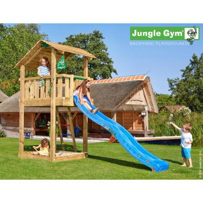 Foto van Jungle Gym Shelter met Glijbaan