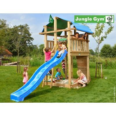 Foto van Jungle Gym Fort met Glijbaan