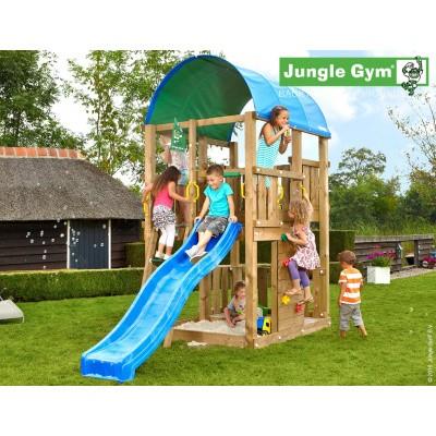 Foto van Jungle Gym Farm met Glijbaan