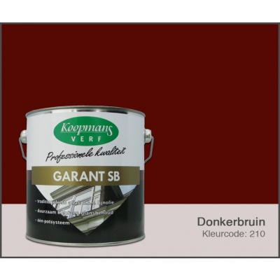 Hoofdafbeelding van Koopmans Garant SB, Donkerbruin 210, 2,5L