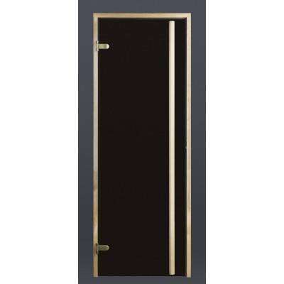 Hoofdafbeelding van Ilogreen Saunadeur Exclusive (Elzen) 209x79 cm, bronsglas