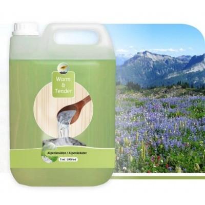 Hoofdafbeelding van Warm and Tender Concentraat Alpenkruiden 5000 ml
