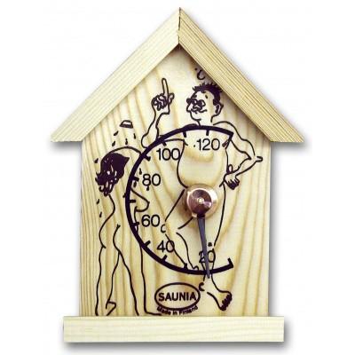 Foto van Saunia Thermometer Man voor sauna