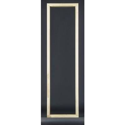 Hoofdafbeelding van Ilogreen Saunaraam 49x186 cm, helderglas 8 mm
