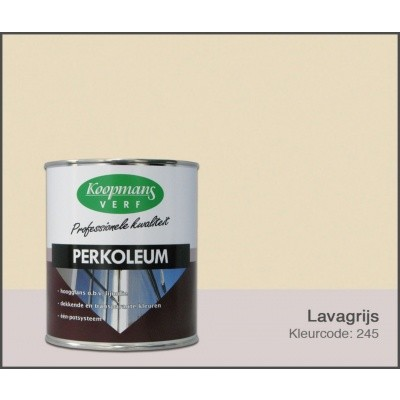 Foto van Koopmans Perkoleum, Lavagrijs 245, 0,75L Hoogglans