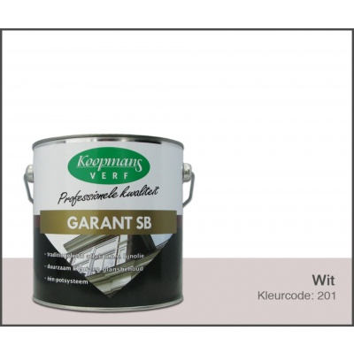 Hoofdafbeelding van Koopmans Garant SB, Wit 201, 2,5L