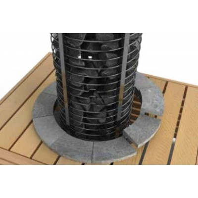 Foto van Sawo Tower Heater Kachelrand (TH-GUARD-S02)