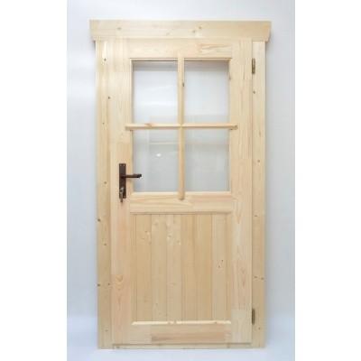 Hauptbild von Azalp Einzeltür mit Halb Glass (90x185 cm)