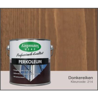 Hoofdafbeelding van Koopmans Perkoleum, Donkereiken 214, 2,5L Zijdeglans