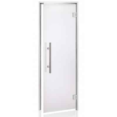 Hoofdafbeelding van Hot Orange Stoombad deur Au Premium 90x210 cm, mat blank