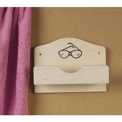 Hoofdafbeelding van Hot Orange Brillenhouder voor 1 Bril