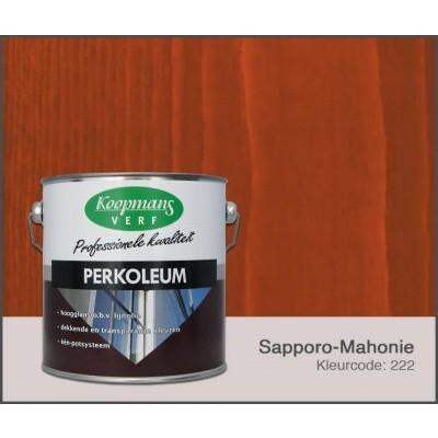 Hoofdafbeelding van Koopmans Perkoleum, Sapporo-Mahonie 222, 2,5L Zijdeglans