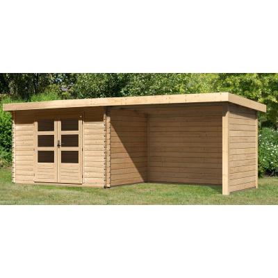 Hoofdafbeelding van Woodfeeling Bastrup 3 met veranda 300 cm (91533)