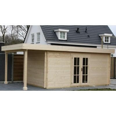 Hauptbild von Azalp Blockhaus Sven 400x500 cm, 45 mm