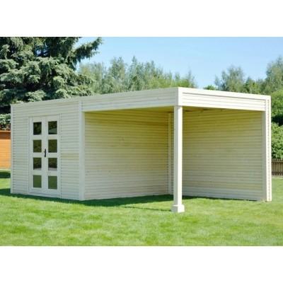 Foto von SmartShed Gartenhaus Ligne Ultra 500x250 cm