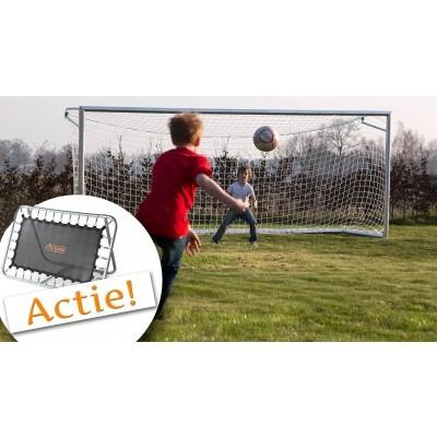 Foto van Avyna Aluminium Goal met net (AVAV-04)