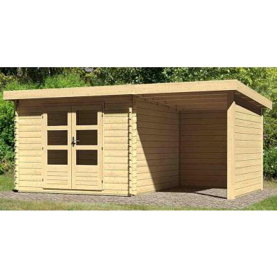 Hoofdafbeelding van Woodfeeling Bastrup 5 met veranda 200 cm (73994)