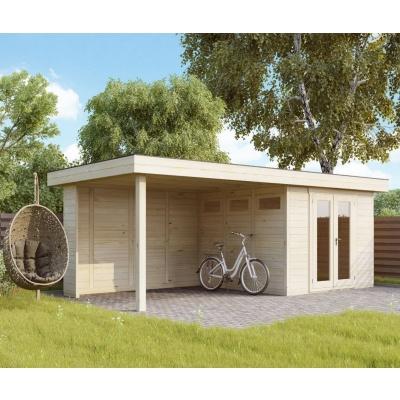 Hauptbild von Azalp Blockhaus Maximo 700x300 cm, 45 mm