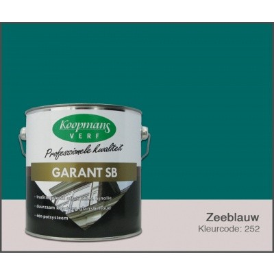 Hauptbild von Koopmans Garant SB, Seeblau 252, 2,5L