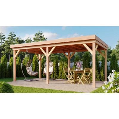Hauptbild von WoodAcademy Douglasie Gartenlaube Duke 580x300 cm