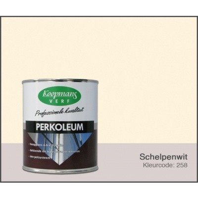 Foto van Koopmans Perkoleum, Schelpenwit 258, 0,75L Hoogglans