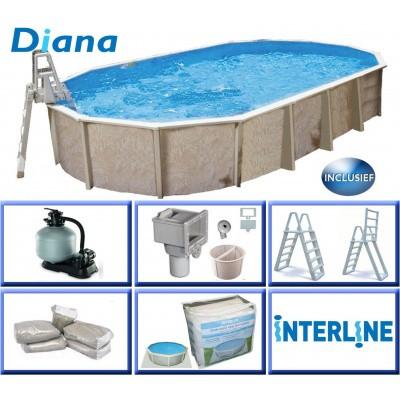 Hoofdafbeelding van Interline Diana 850 x 490 x 132 cm inclusief pakket