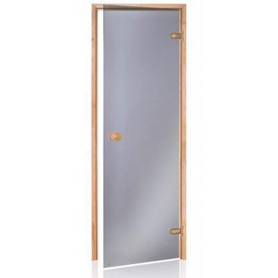 Hoofdafbeelding van Hot Orange Saunadeur Scan 90x200 cm, grijs 8 mm elzen