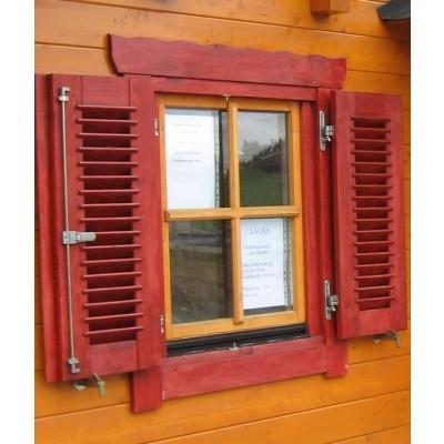 Hoofdafbeelding van Azalp Luikenset raam 120x94 cm, lamellen