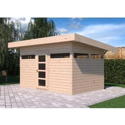 Hauptbild von SmartShed Blockhaus Amando 400x400 cm, 45 mm