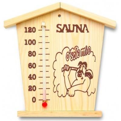 Foto van Azalp Thermometer cabin voor sauna (WJ-04)