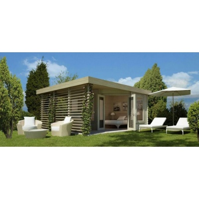 Foto von Azalp Blockhaus Alm 370x370 cm
