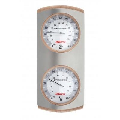 Foto van Harvia Thermo-hygrometer RVS (SAS92306)