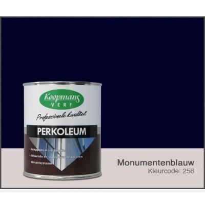 Foto van Koopmans Perkoleum, Monumentenblauw 256, 0,75L Hoogglans
