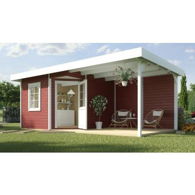 Hoofdafbeelding van Weka Designhuis 213 B Gr.1, 541x238 cm Zweeds rood