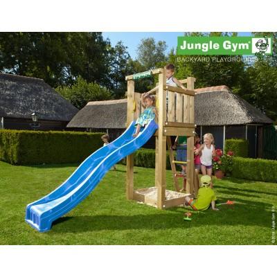 Foto van Jungle Gym Tower met Glijbaan