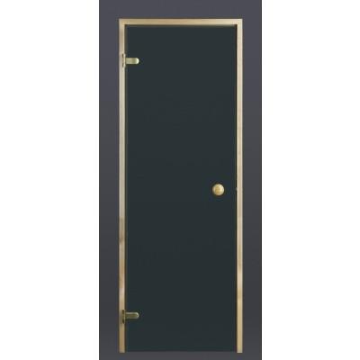 Foto van Ilogreen Saunadeur Trend (Elzen) 189x79 cm, groenglas
