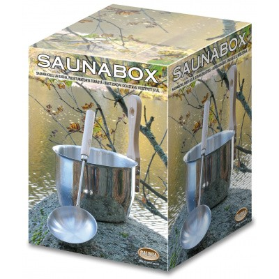 Foto van Saunia Saunaset RVS